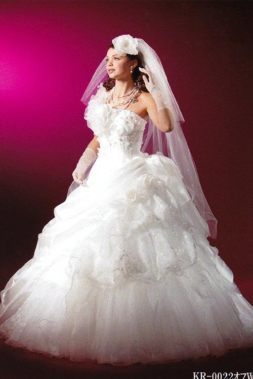提携店ウェディングドレス203